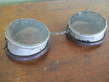 Vintage Steampunk Goggles Wellsworth Duraglass  Patent 6-27-1922 Steam Punk