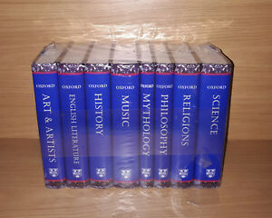 Oxford Dictionary 8 Volume Education & Reference Set Brand New & Factory Sealed
