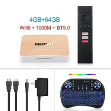 Mecool KM6 Deluxe Google TV Certified Android 10 Amlogic S905X4 4G 64G 4K H.265