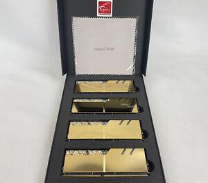 G.SKILL Trident Z Royal Series 64GB (4x16GB) RGB DDR4 SDRAM 3000 CAS 16 (PC4