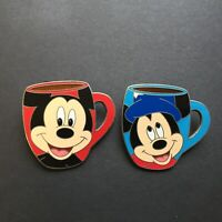 WDW - Spotlight Mug Collection - Sorcerer Mickey Mouse - 2 Pins Disney Pin 60959