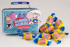 DUBBLE BUBBLE Mini Lunch Box Collectible Tin w/Bubble Gum (past exp date)
