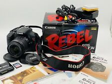 Canon EOS Rebel T3i Digital SLR Camera with EF-S 18-55mm f/3.5-5.6 IS Lens DSLR