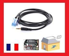 Cable auxiliaire mp3 mini iso autoradio jack Aftermarket Blaupunkt 2000-2010