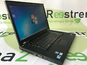 Portátil Lenovo ThinkPad T510 i7 M620 2.6 Ghz 4 Gb 320 Gb DVDRW W7
