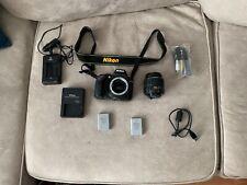 Nikon D D3300 24.2MP Digital SLR Camera - Black (Kit w/ AF-S DX VR II 18-55mm...
