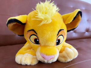 Disney SIMBA Plush Lion King Soft Pillow NEW