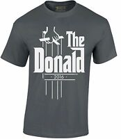 The Donald 2016 Mens T-SHIRT Donald Trump President Election Political Shirt