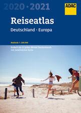 ADAC Reise Atlas 2020 / 2021 Deutschland 1:200000 (+ Europa) Straßenatlas Karte
