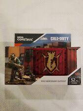 2017 NIB Mega Construx Call Of Duty Solo Mercenary Outpost FXW82 FREE S/H
