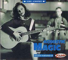 Acoustic Magic Various 24 Karat Zounds Gold CD Audio's Audiophile Vol. 8 OOP