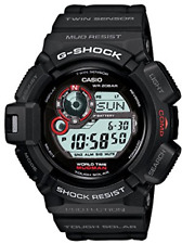 CASIO G-SHOCK G9300-1 MODMAN MUD RESISTANT THOUGH SOLAR  WORLD TIME COMPSS THERM