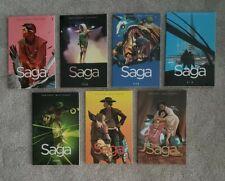 Saga TPB lot! *7 Trades* Brian K. Vaughan Fiona Staples