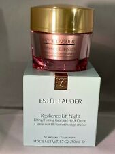 Estee Lauder Resilience Lift Night Lifting/Firming Face And Neck CrÈMe 1.7 Oz /