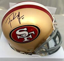 Frank Gore Signed San Francisco 49ers TB Mini Helmet JSA