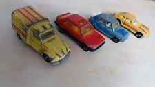Lot de majorette Renault 11 Simca 1100 Citroën acadiane Datsun 250z