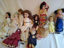Vintage/Antique Porcelain Doll Collection German Other