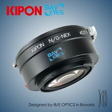 New Kipon BAVEYES adapter for Nikon G mount lens to Sony NEX camera α6300