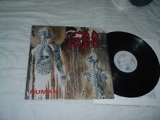 DEATH Human LP classic death ORIG 1st RC label IMPORT !! press SHRINK NM/MINT-