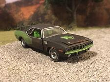 1971 Plymouth Cuda Rusty Weathered Barn Find Custom 1/64 Diecast Car Rust Mopar