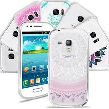 Mandala HENNA Silicone Slim Cover Samsung Galaxy S3 Mini Art Design Bumper Case