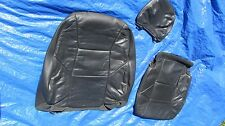 2001-2004 Volvo S60 V70 T-5 OEM Charcoal  Driver Left Side Leather Seat Covers