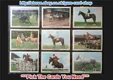 ANGLO-AMERICAN - THE HORSE 1966 (CARDS 37 - 66) (G) *PICK THE CARDS YOU NEED*