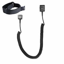 Movo FC50C 16' (5m) E-TTL Off-Camera Hot Shoe Flash Shoe Cable Cord for Canon