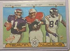 2001 Pacific Prizm Atomic Randy Moss Culpepper Bennett Team Nucleus #6 Vikings