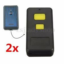2x Garage/Gate Door Remote Control For Elsema key FMT101 FMT201 FMT301 FMT401