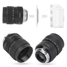 25mm Manual Aperture CCTV Camera LensSuitable for Olympus M4/3/Canon/Fuji/Sony