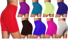 Pantalones cortos de mujer deportiva de 100% algodón