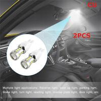 2pcs Durable Car Truck Scooter SMD3030 T15 LED Brake Parking Light Lamp