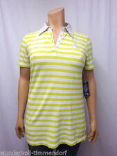 Gestreifte Damenblusen, - tops & -shirts aus Baumwolle in Größe 42