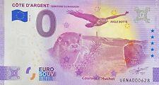 BILLET 0 EURO  COTE D'ARGENT MARENSIN   FRANCE  2021 NUMERO DIVERS