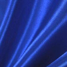 "20 Yards Satin Fabric 60"" Sash Bows TableCloth Runner Overlay SALE 22 colors"