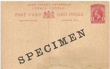 Cyprus 1 Worldwide Postal History Stamps