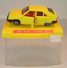 Guisval 1/64 Nr. 103 Citroen BX Limousine gelb OVP #6028