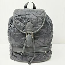DKNY Quilted Black Backpack Bag Nylon  Puffy