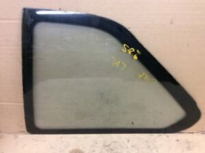 88 89 90 91 Honda Prelude Coupe L Left Quarter Vent Glass Window Used OEM