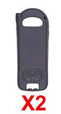 Lot Of 2 Motorola Nextel i205 Standard Battery Doors -Ntn2067 Black Used