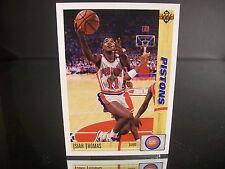 Rare Isiah Thomas Upper Deck 1991 ard #333 Detroit Pistons NBA Basketball