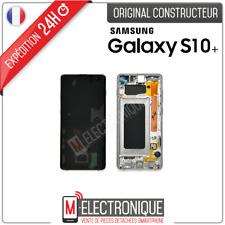 ECRAN LCD SILVER ORIGINAL SAMSUNG GALAXY S10+ SM-G975F