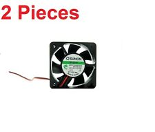 2 Pieces SMALL 5015 50MM SUNON MAGLEV 0.5W 12V DC FAN BLOWER KDE1205PHV3  c17
