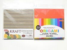 Origami 24Color 180sheets and 8Cocor Double-sided 80sheets(5.9inchx5.9inch)