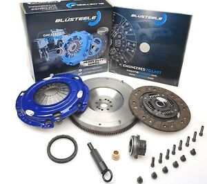 Blusteele HEAVY DUTY clutch kit COMMODORE VS VT VX VY 3.8 V6 ECOTEC + FLYWHEEL