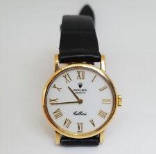 Rolex Cellini Model 5109 Classic 18K Gold Swiss Auto Watch (Year 1995)