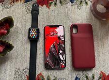Apple iPhone X - 64GB - Silver (Unlocked) +More