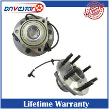New Front Wheel Hub & Bearing Pair Set for Chevy GMC Cadi Lifetime Warranty