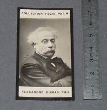 PHOTO IMAGE FELIX POTIN 1er ALBUM 1902 LITTERATURE ALEXANDRE DUMAS FILS